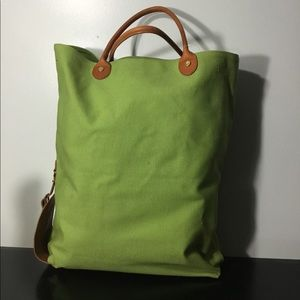 Brooks Brothers Large Green Tote